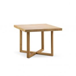 Rozkladací stôl z masívneho dubového dreva Windsor & Co Sofas Skardu, 90 x 130 cm