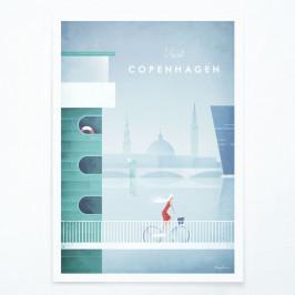 Plagát Travelposter Copenhagen, A2