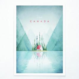 Plagát Travelposter Canada, A2