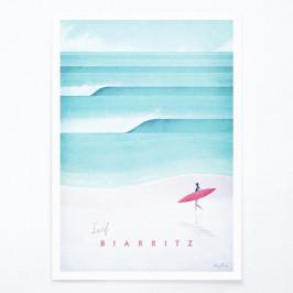 Plagát Travelposter Biarritz, A2