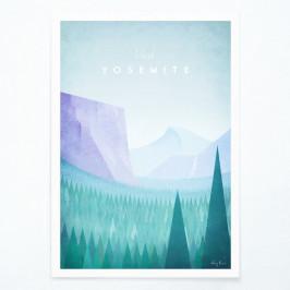 Plagát Travelposter Yosemite, A2