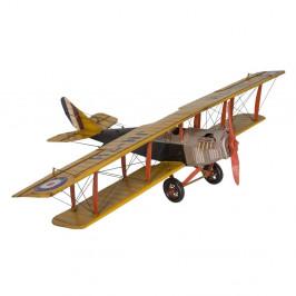 Dekoratívne lietadlo Antic Line Yellow Plane