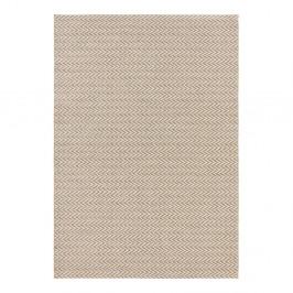 Krémovobiely koberec vhodný aj do exteriéru Elle Decor Brave Caen, 80 × 150 cm