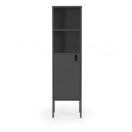 Sivá skriňa Tenzo Uno, výška 152 cm