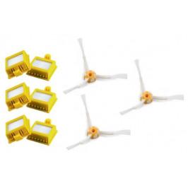 Náhradné HEPA filtre k vysávačom iRobot 700 Series, 3kusy