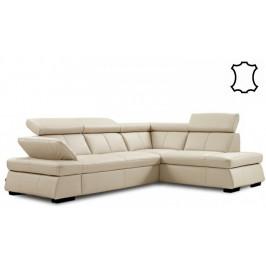 Rohová sedačka rozkladacia Malpensa pravý roh ÚP béžová
