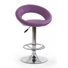 H15 - Barová židle, fialová