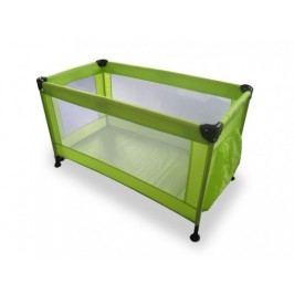 Calme -Cestovná postieľka, 120x60x73 cm, skladacie (zelená)