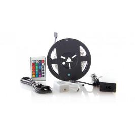 Solight LED pás, RGB, 3m,adaptér a diaľk. ovládač, 7,2W/m,WM55