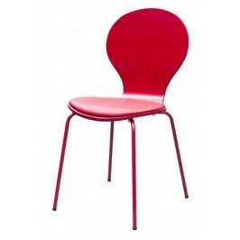Flower - Jedálenská stolička, sedák (tulip, eko koža)