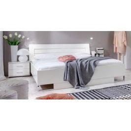 Davos - Komplet 5, posteľ 140 cm (alpská biela)