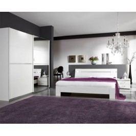 Heaven - Komplet 4, posteľ 180cm (alpská biela)