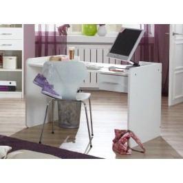 Nightlight - Detský pracovný stôl  (biela, krištáľové kamienky)