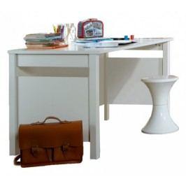 Filou - Pracovný stôl (alpská biela)