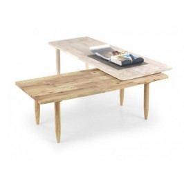 Bora-Bora - Detský stôl (bielené drevo, prírodný)