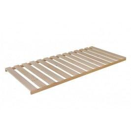 Wood - Rošt 200x80x6, nepolohovacie (14 pevných lát v ráme)