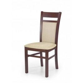 Gerard 2 - Jedálenská stolička (béžová, čerešňa)