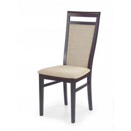 Damian - Jedálenská stolička (béžová, orech)