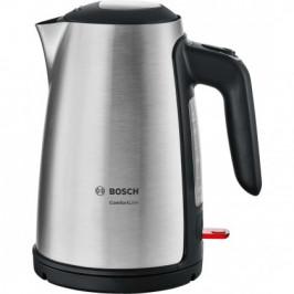 Rýchlovarná kanvica Bosch TWK6A813, nerez, 1,7l
