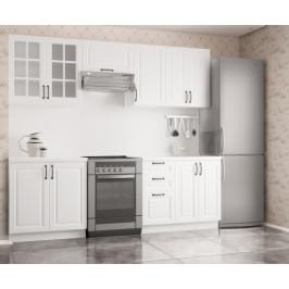 Kuchyňa Michelle - 240 cm (biela)