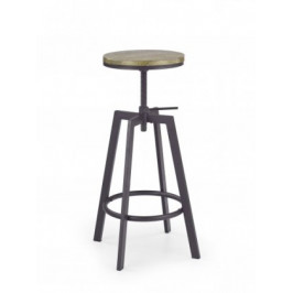 H64 - Barová stolička (hnedá)