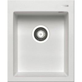 Istros - Granitový drez 41x50, 1B, biela