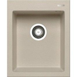 Istros - Granitový drez 41x50, 1B, béžová