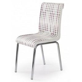 K261 - Jedálenská stolička (chróm, eko kože)