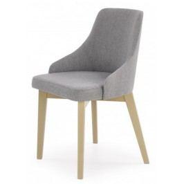 Toledo - Jedálenská stolička (masív buk sonoma, látka)
