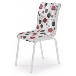 K263 - Jedálenská stolička (chróm, eko kože)