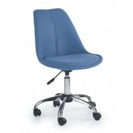 COCO 4 - dětská stolička, modrá, regulacia výšky sedáku
