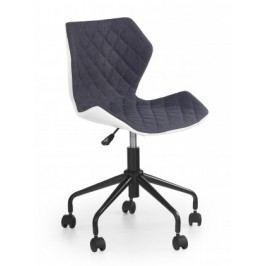 MATRIX - dětská stolička, sivá, regulacia výšky sedáku