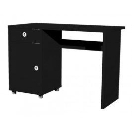 Box - stôl, 1x dvere, 1x šuplík (čierna)