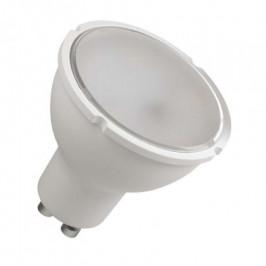LED žiarovka Emos ZQ8340, GU10, 4,5W, číra, teplá biela