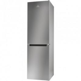 Kombinovaná chladnička s mrazničkou dole Indesit LR9 S2Q F X B