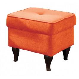 Taburetka Flo štvorec oranžová
