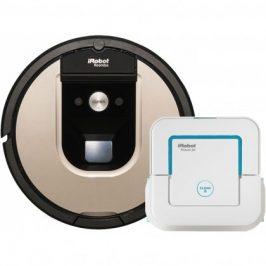 Robotický vysávač iRobot Roomba 966 + Braava jet 240