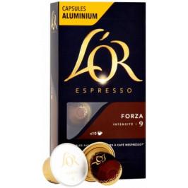 Kapsule L'OR Espresso Forza 10 ks