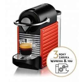 Kapsuľový kávovar KRUPS Pixie XN304510 červený