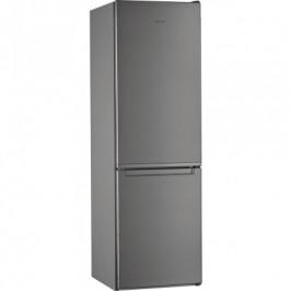 Kombinovaná chladnička s mrazničkou dole Whirlpool W7 831A OX