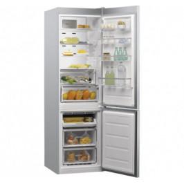 Kombinovaná chladnička s mrazničkou dole Whirlpool W9931D IX A+++