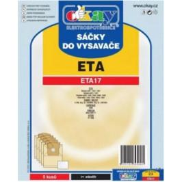 Vrecká do vysávača Eta ETA17, 5ks