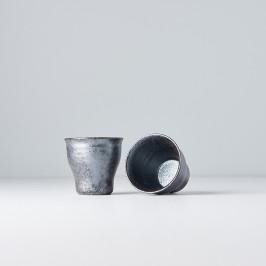 MIJ Malý pohár Craft Black 100 ml