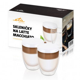 Poháre na latte macchiato ETA 2x 350 ml