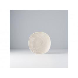 MIJ Plytký tanier Fade béžový 16 cm