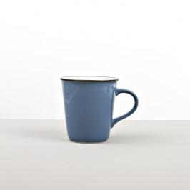Colourblock keramický hrnček modrý vysoký 300 ml