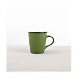 Colourblock keramický hrnček zelený vysoký 300 ml