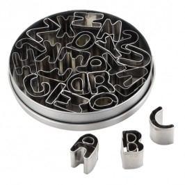 Set vykrajovačiek Cake Boss - abeceda 26 ks