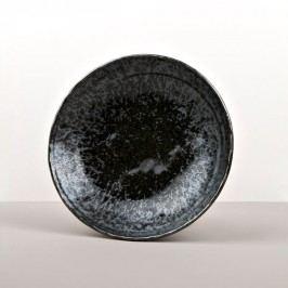 Veľká plytká miska Black Pearl 24 cm