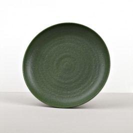 Guľatý tanier Earthy Green 25 cm